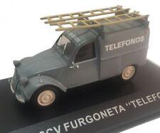 CITROEN 2CV FURGONETA TELEFONICA 1/43 IXO ALTAYA  DIECAST