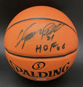 Dominique Wilkins SIGNED I/O NCAA Basketball  + HOF 06 Hawks PSA/DNA AUTOGRAPHED