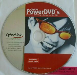 Cyberlink Power DVD 5  Disc only BRAND NEW SEALED with key