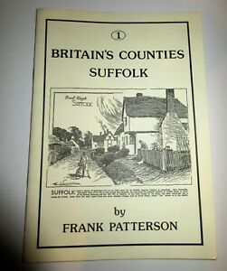 BRITAIN'S COUNTIES SUFFOLK NO 1 FRANK PATTERSON CYCLING BOOK 1992