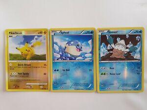 Pikachu, Snover & Spheal Pokemon Holo Cards TCG VARIOUS SERIES