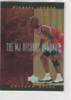 MICHAEL JORDAN 1999 UPPER DECK HARDCOURT #J10 MJ RECORDS ALMANAC FOIL INSERT!