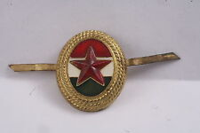 Hungary Hungarian hat badge cochade army badge officer gold brass Star Soviet