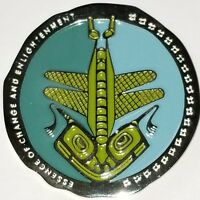 NATIVE AMERICAN TOTEM GEOCOIN - DRAGONFLY - VARIOUS METALS - UNACT- NEW