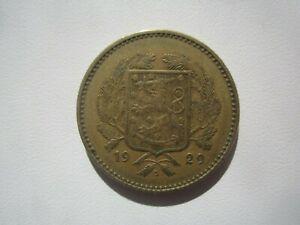1929 FINLAND 10 MARKKAA