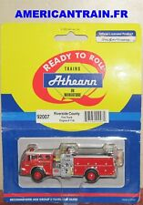 Camion de pompier Ford-C Fire Truck Engine #71A HO 1/87 Athearn