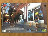 Jak and Daxter PS2 Playstation 2 2001 Vintage Print Ad/Poster Official Promo Art