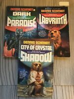 All 3 Of The Questioner Trilogy, by Schmidt, Dennis , All Ace First Editions
