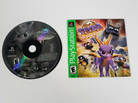 Spyro: Year Of The Dragon (Sony PlayStation 1 PS1) - Disc & Manual, Tested