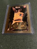 KOBE BRYANT ~ 1998 Collector's Edge Basketball Impulse KB8 Gold Insert #2
