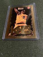 KOBE BRYANT ~ 1998 Collector's Edge Basketball Impulse KB8 Gold Insert #2