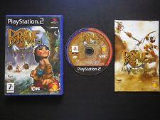 JEU Sony PLAYSTATION 2 PS2 : BRAVE A LA RECHERCHE D'ESPRIT DANSEUR (complet)