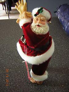 NWT New Santa Claus Figurine by Hallmark