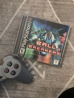 Ball Breakers (Sony PlayStation 1, PS1, 2000) Black Label, Complete with Manual