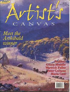 ARTIST'S CANVAS - Artist's Palette No. 3 - Australian Art Magazine