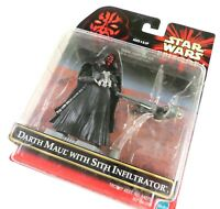 Star Wars Episode 1 Darth Maul with Sith Infiltrator, Hasbro 1999 New In Package