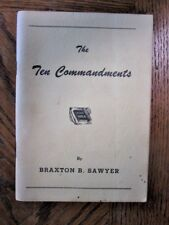 The Ten Commandments by Braxton B. Sawyer (Paperback, 1956)