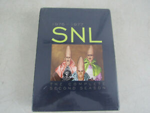 Saturday Night Live The Complete Second Season (DVD, 2007, 8-Disc Set) Brand New
