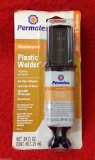 Permatex Plastic Welder Acryl Aluminium Glas PVC Styrol Vinyl Fiberglas 25ml