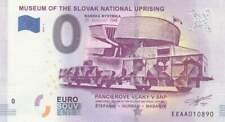 Biljet billet zero 0 Euro Souvenir - Museum of the Slovak National (066)