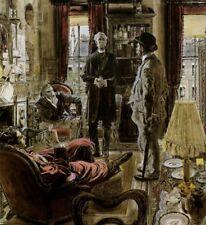 Sherlock Holmes : Robert Fawcett : Fine Art Print