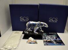 NIB Swarovski SCS 2011 Polar Bear SIKU Figurine Signed #1053154