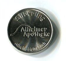 Medaille Alheim Heinebach Alheimer Apotheke Silbering Niederaula Sonnen M_1173