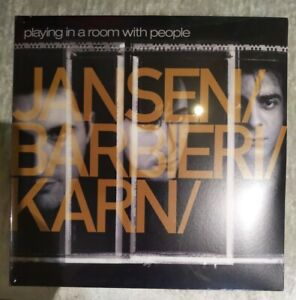 Jansen Barbieri Karn Playing In A Room With People Double Silver Vinyl LP New