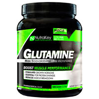 Nutrakey GLUTAMINE Powder Muscle Growth, Recovery L-Glutamine PICK SIZE