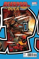 Deadpool The Duck  #4 connecting variant Marvel Comic 1st print 2017 unread NM