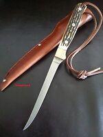 Schrade Uncle Henry Fillet Knife168UH Hunting,Fishing,Fillet Fish Knife