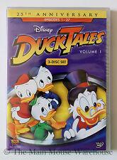Ducktales Disney Channel Classic Cartoon Scrooge Huey Dewey & Louie Volume 1 DVD