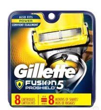 Gillette Fusion 5 Proglide & Proshield Blades 8 Cartridges