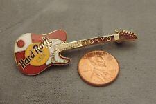 Hard Rock Cafe Tokoyo Red Guitar Collectors Pin  7a 28