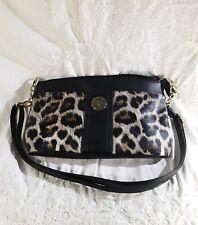 Treviso Imitation Leather Purse Handbag Leopard Print Small