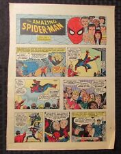1977 Spider-Man Sunday Comic Strip 10/16/77 John Romita Fn- Spidey Origin