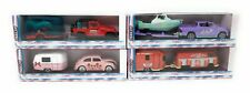 Majorette Pink Drivez Trailer Set of 4 VW Jeep Toyota metal model car