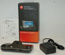 NEW Motorola Droid 2 Multimedia USB Dock Station 89429N Cell Phone Cradle A955