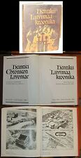HENRIC's CHRONICLES LIVONIA 13th century Latin Estonia