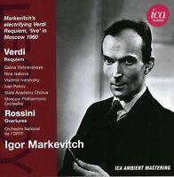 Legacy: Markevitch - Verdi/Rossini (2012, CD NEU)