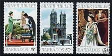 Barbados 1977 Silver Jubilee SG 574/6 MNH