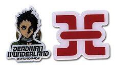 Deadman Wonderland 2 Pin Set Licensed Anime NEW