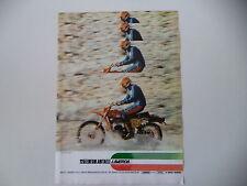 advertising Pubblicità 1977 MOTO LAVERDA 125 REGOLARITA'