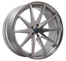 "20"" ROHANA RC10 5x4.5 CONCAVE STAGGERED WHEELS RIMS"