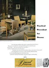 Drexel Precedent Mid Century Modern Furniture EDWARD J WORMLEY Desk 1949 Ad