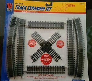 Life Like Trains Ho Gauge Figure-8 Track Expander Set NWT #8618