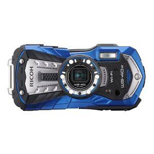 RICOH Waterproof digital camera RICOH WG-40 Blue (Japan Import)