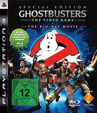 Special Edition Ghostbusters Das Videospiel + Bluray Film Actionfilm Actionspiel