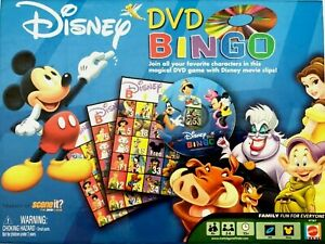 Disney DVD Bingo Game Replacement Pieces You Pick - Disc, Markers, Cards