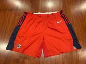 Nike Men's Olympic Team USA Basketball Shorts Size 40 Red RARE